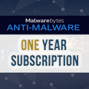 Picture of Malwarebytes One Year Subscription